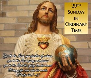 29th Sunday in Ordinary Time Greetings from our Pastor - Image of God