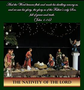A Blessed Christmas to All! - Greetings from our Pastor