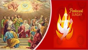 Pentecost Sunday Greetings from our Pastor