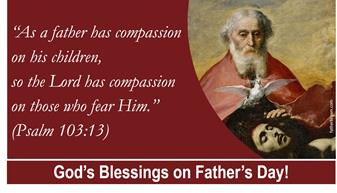 Father's Day Blessings and Signup (June 20/21, 2020)