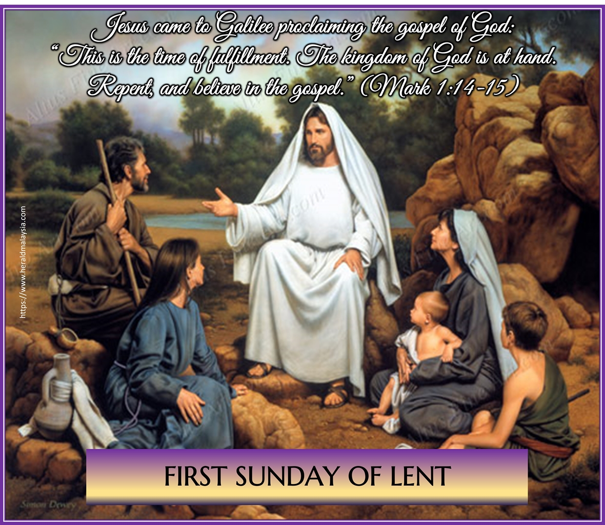1st Sun Lent of our good Lord Jesus Christ