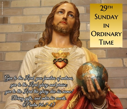 29th Sun Ordinary Time Sacred Heart of Jesus Image