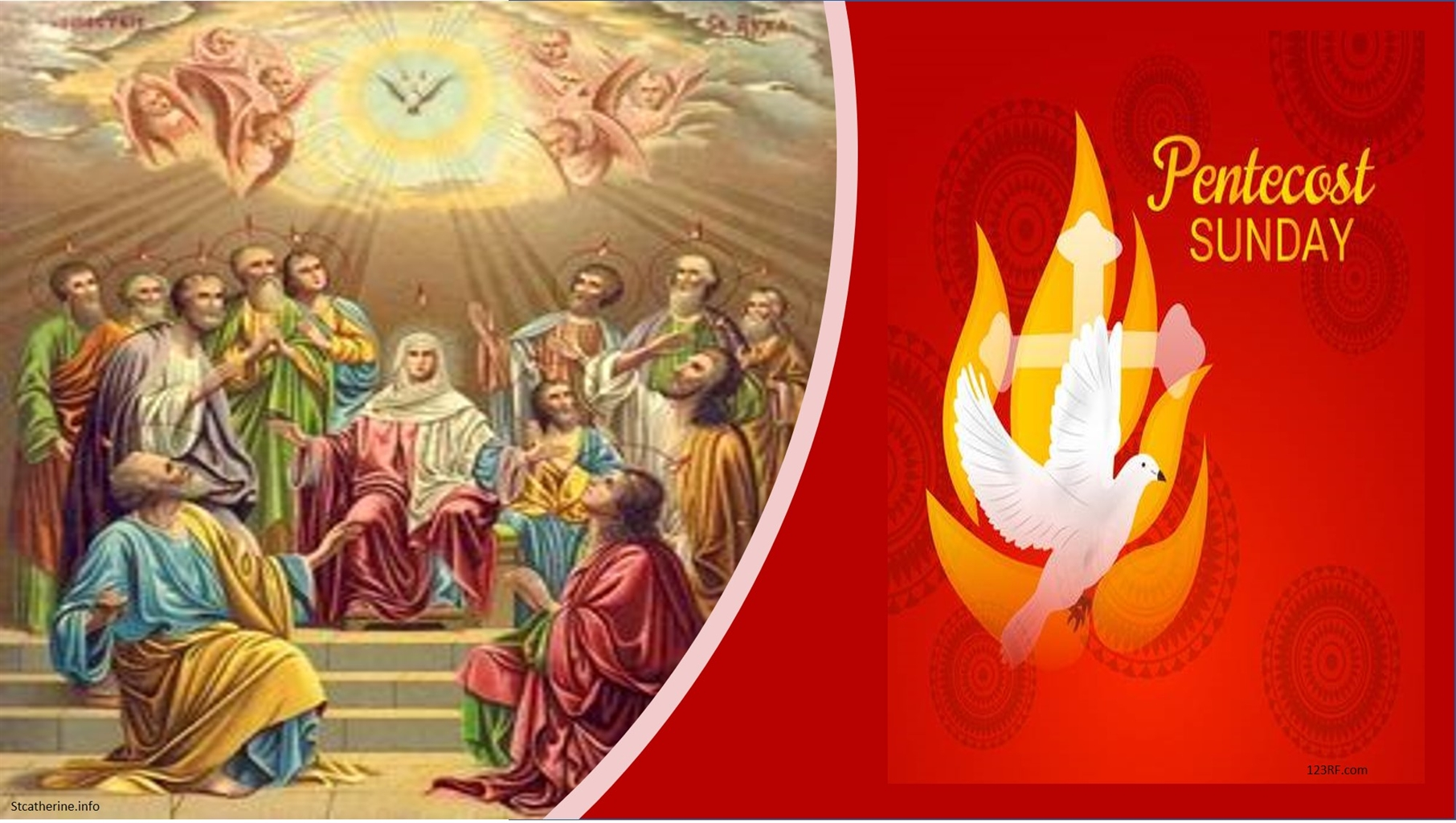 Pentecost Sunday Holy Spirit Blessed Mother