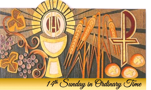 14th Sunday in Ordinary Time (Signup for July4/5, 2020)