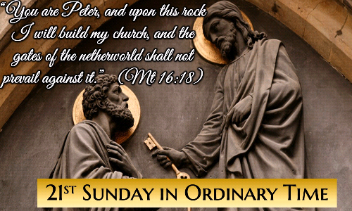 21st Sunday in Ordinary Time Greetings